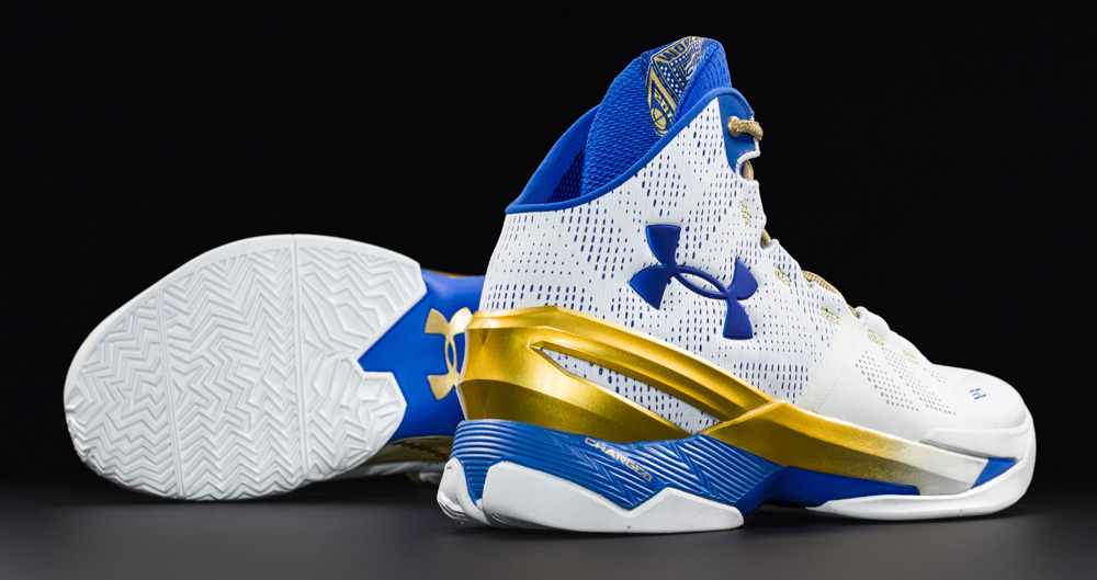 36786dd1592 The Under Armour Curry 2  Gold Rings  is Available Now - WearTesters