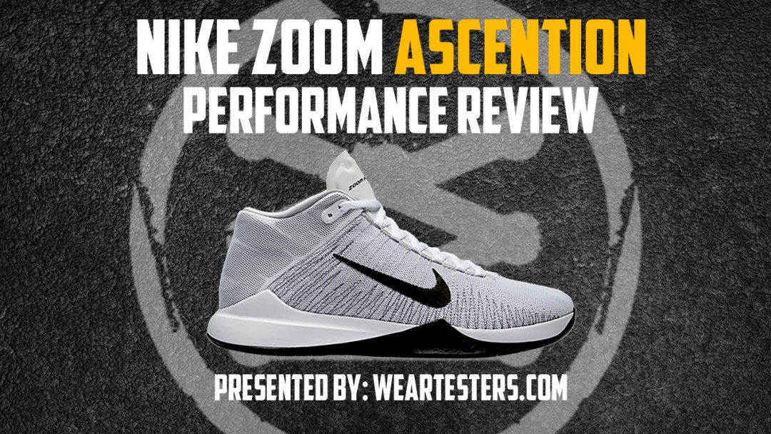 timeless design bbf39 1acbe Nike Zoom Ascention Performance Review - WearTesters