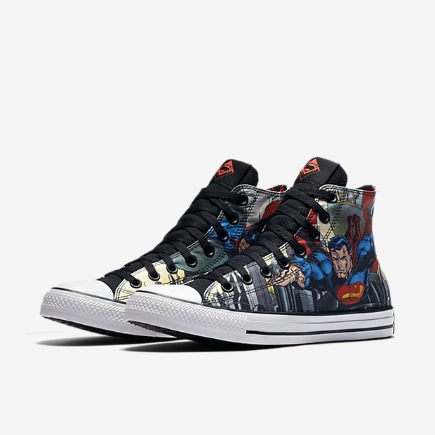 1a7b63ab1744 Converse Chuck Taylor All-Star DC  Superman  1 - WearTesters