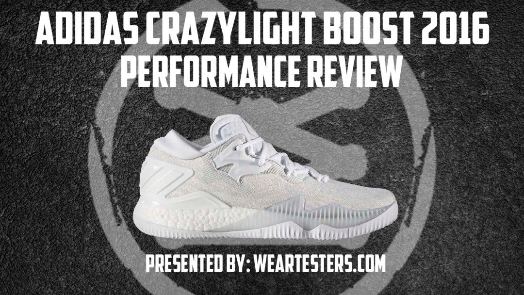 half off 788cc a262a adidas CrazyLight Boost 2016 Performance Review  JAHRONMON .