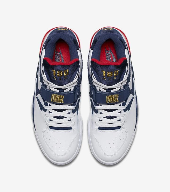 The Nike Air Force 180  Olympics  is Available Now Way Below Retail ... b884a104b0