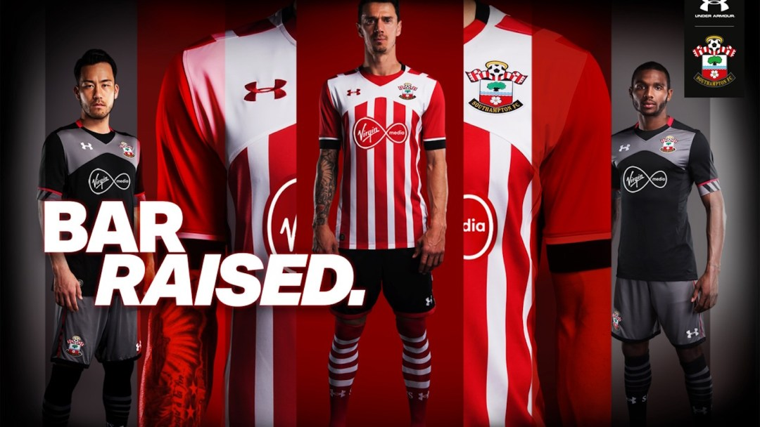 1d03d2023 Southampton FC and Under Armour Launch New Kits - WearTesters