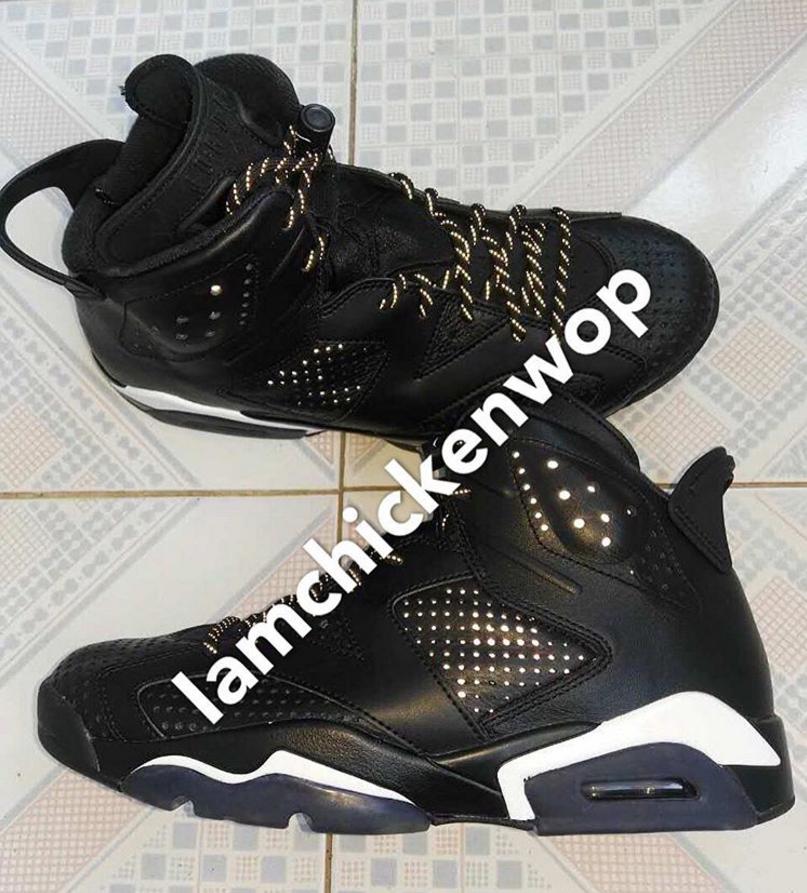 new products 8bbbc 1e39d air jordan 6 black cat 1