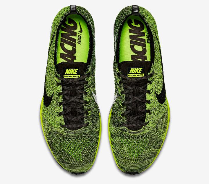 The Reinvented Nike Flyknit Racer  Volt  is Available Now - WearTesters 1d73adc48604