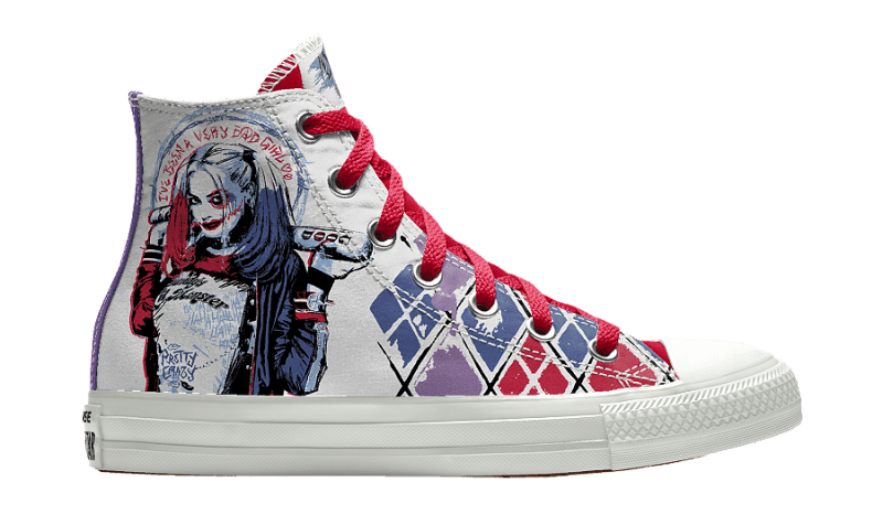 bc11a0ce41dc You Can Create Your Own Suicide Squad Converse Now - WearTesters