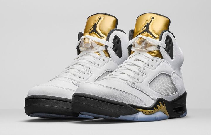 outlet store 9ed4f 18827 Air Jordan 5 Retro Gold Medal 1