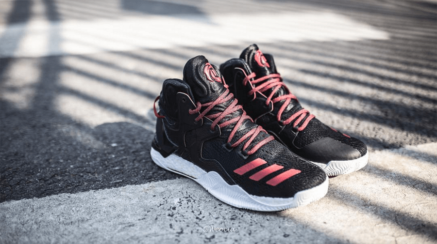 cheap for discount 84559 b4cee Get a Detailed Look at the adidas D Rose 7 in Black Red 3