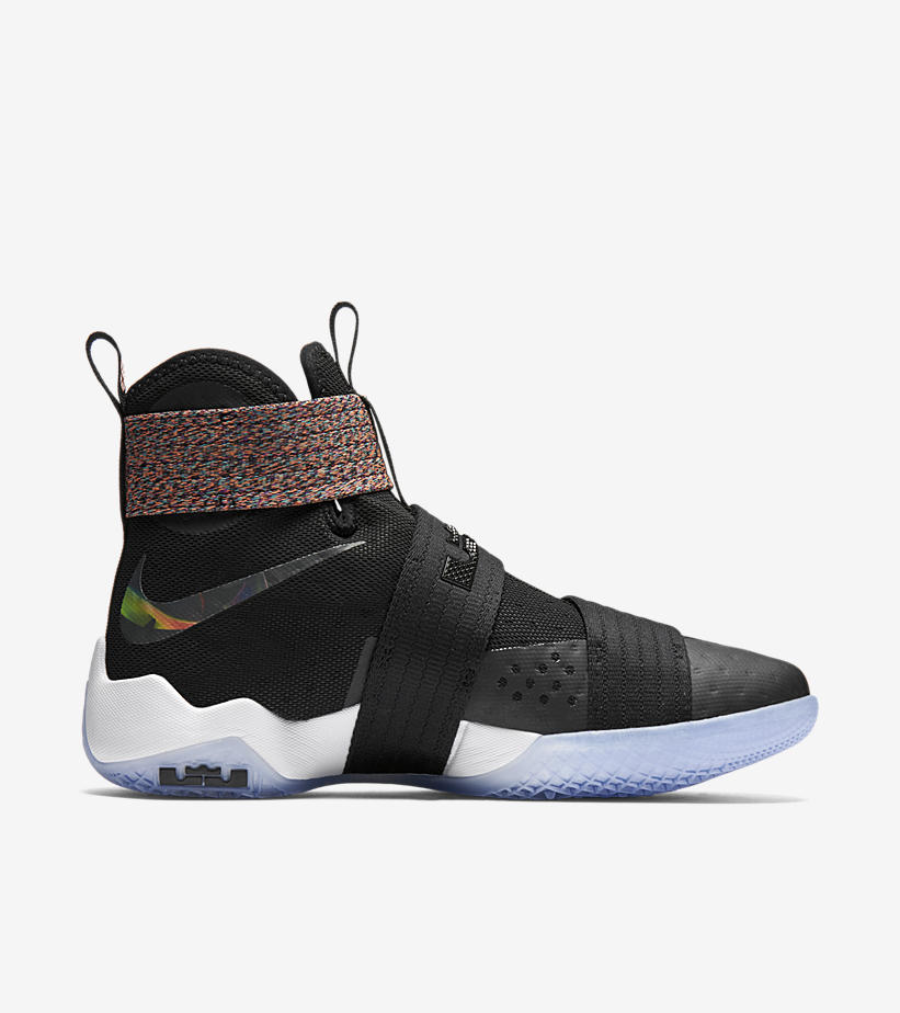 online retailer 811bf e11d2 Nike LeBron Soldier 10  Unlimited  medial