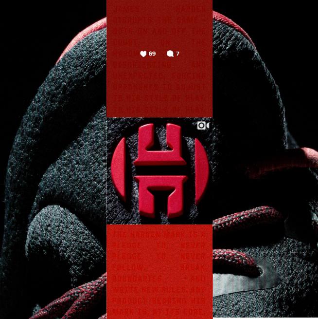 adidas sfotte il james harden 1 e il nuovo logo del progetto