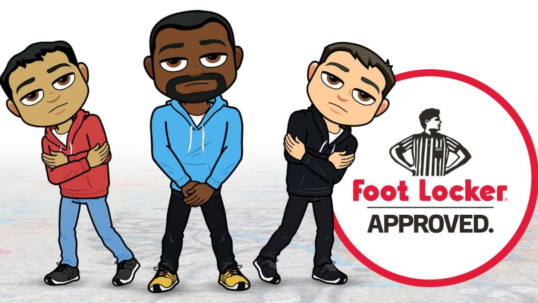 foot locker and six 02 launch bitmoji partnership weartesters