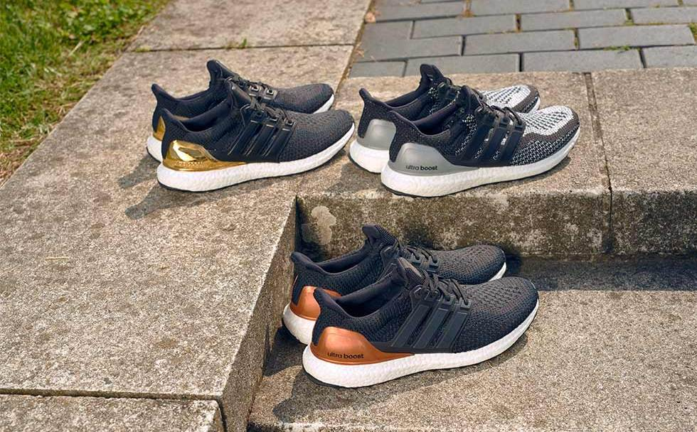 The adidas Ultra Boost  Olympic Medal Pack  is Available Now ... ef94b3dec0