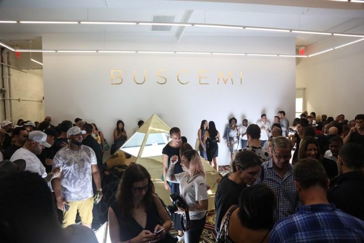 Buscemi Celebrates SoHo Flagship Store Opening 11