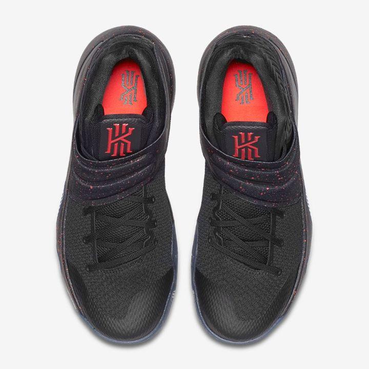 1ad00334a88 Nike Kyrie 2  Black Black Crimson  - Release Information - WearTesters
