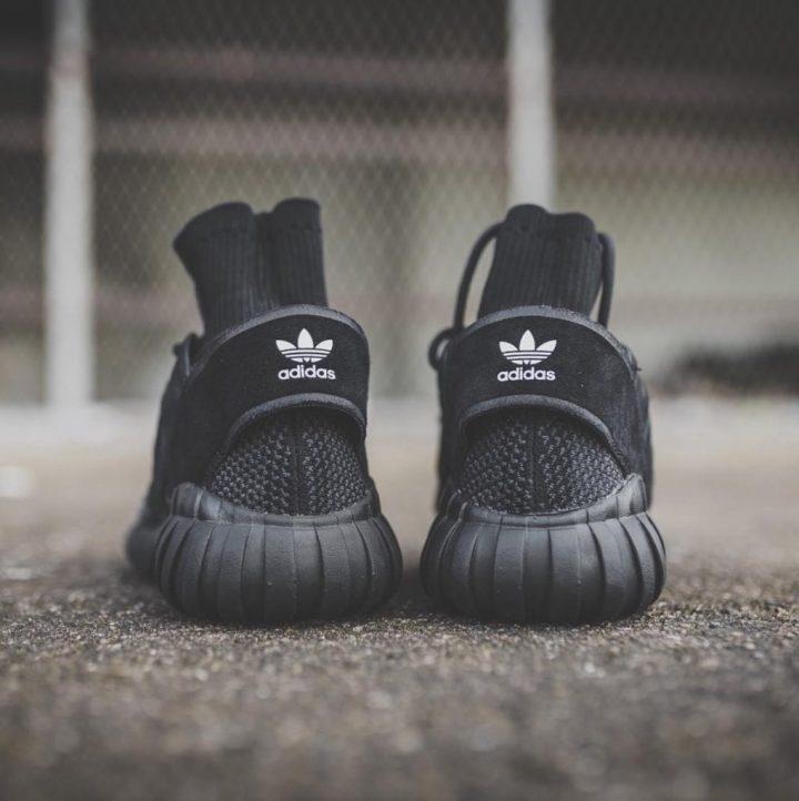 adidas tubular doom primeknit black 2