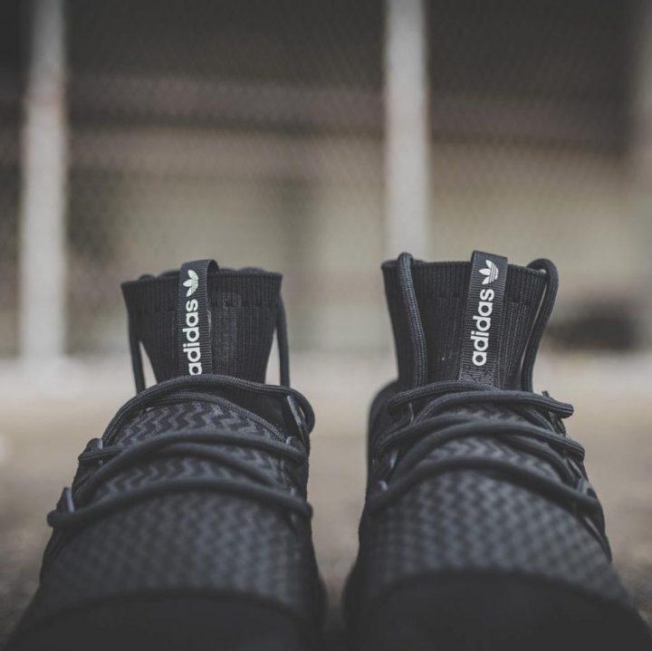 adidas tubular doom primeknit black 3