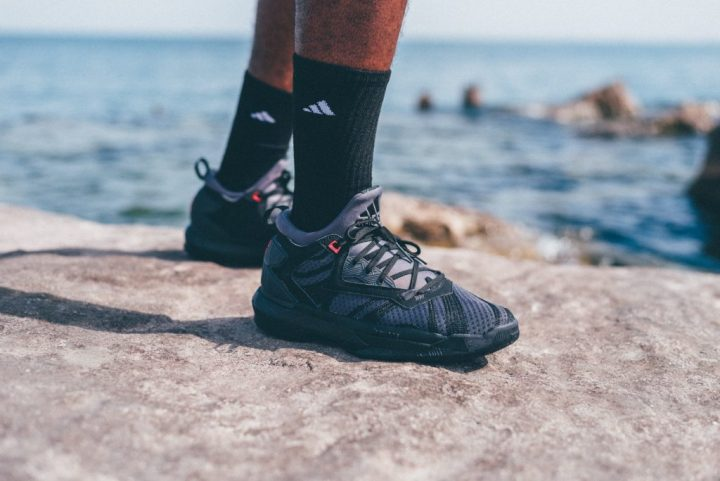 sneakers for cheap 8837e 7f09f adidas and Damian Lillard Strike with Shark Black Edition - WearTesters