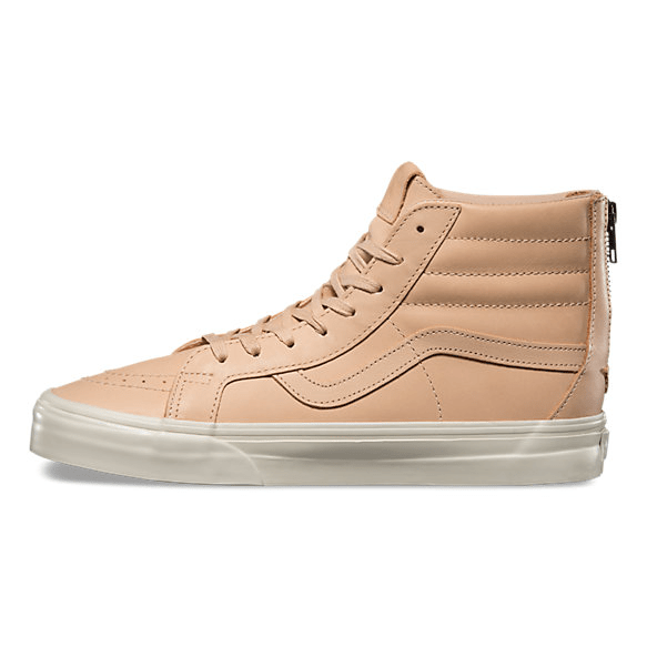 65c46641fe8f Veggie Tan Leather is Featured on this Vans Sk8-Hi - WearTesters