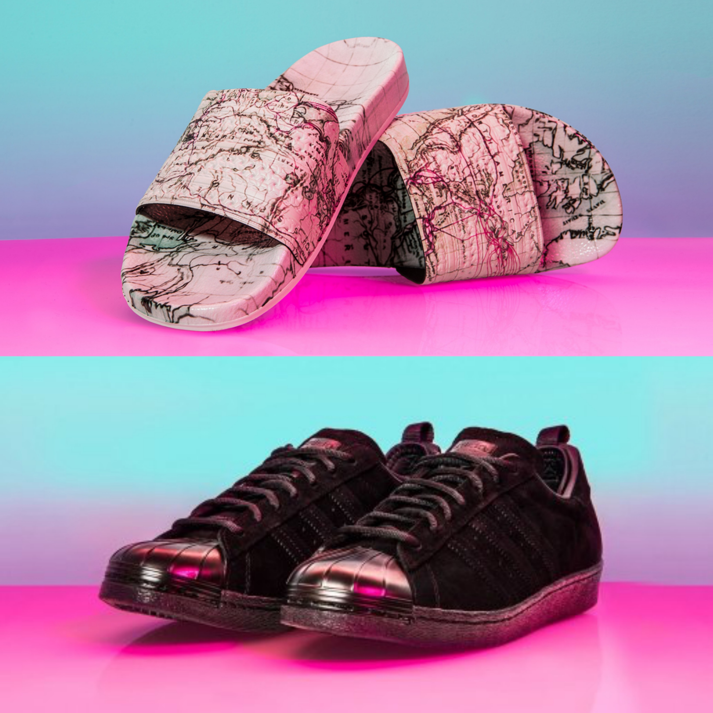 first rate 52268 fbf7b adidas-eddie-huang-world-slides-and-shoes