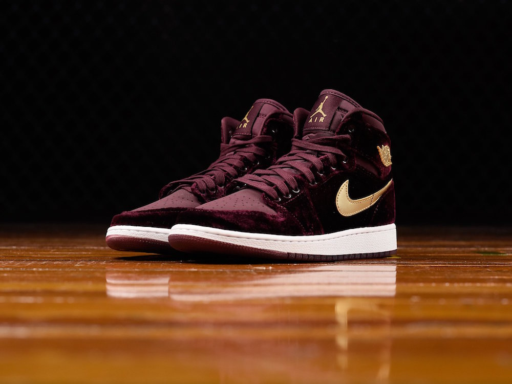 girls air jordan 1 heiress pack night maroon 2 · Jordan Brand   Kicks Off  Court ... ac5a3dff1