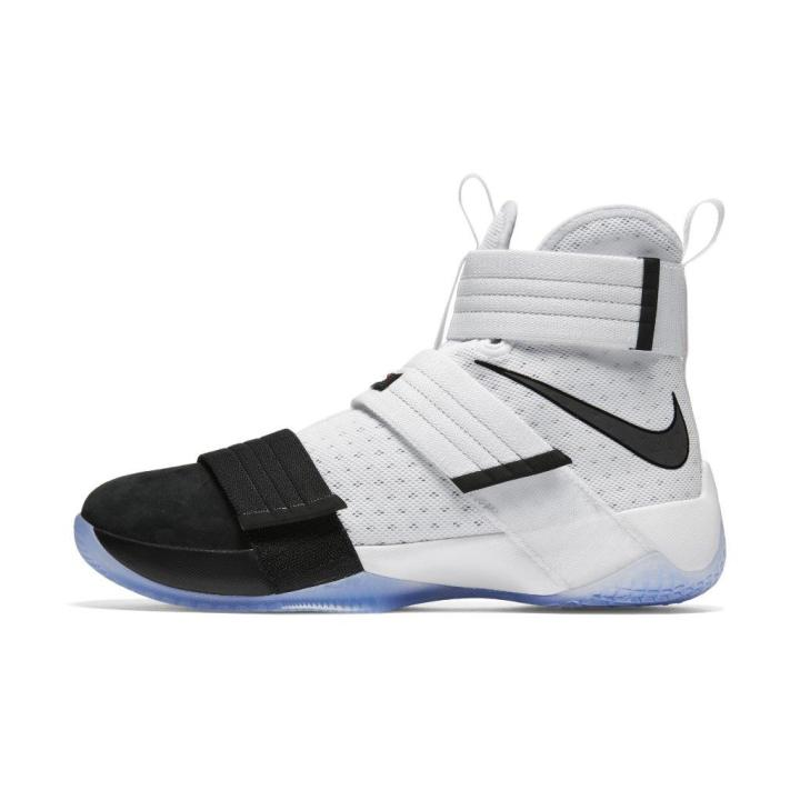 los angeles 7f17d e8348 nike lebron soldier 10 SFG black toe 4 ...
