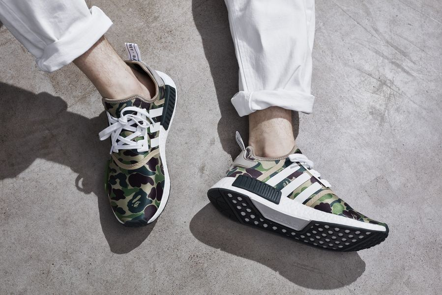 separation shoes 0c109 ba9db The A Bathing Ape x adidas NMD R1 Collection is Poised for Release ...