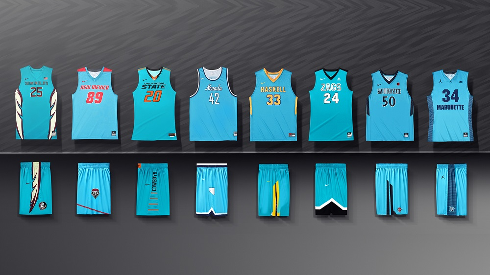 04076588 Nike Outfits Nine Schools in N7 Jerseys for Native American Heritage ...