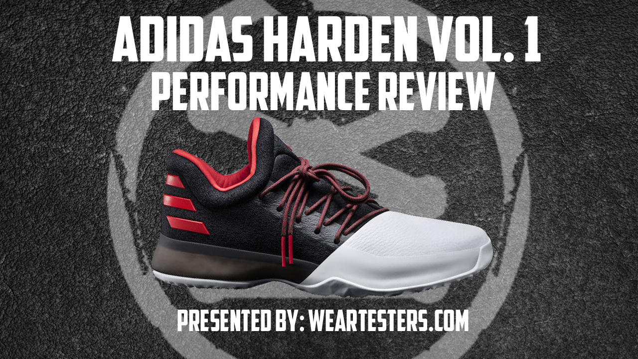 online retailer d92a8 5a1c1 adidas Harden Vol. 1 Performance Review - WearTesters