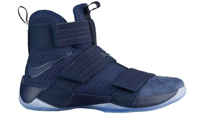 1fe864fff315 The Nike Zoom LeBron Soldier 10  Midnight Navy  is Available Now