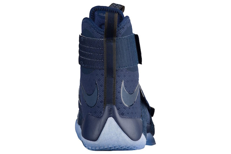 save off df90c 7c1b0 Nike Zoom LeBron Soldier 10 Midnight Navy 3