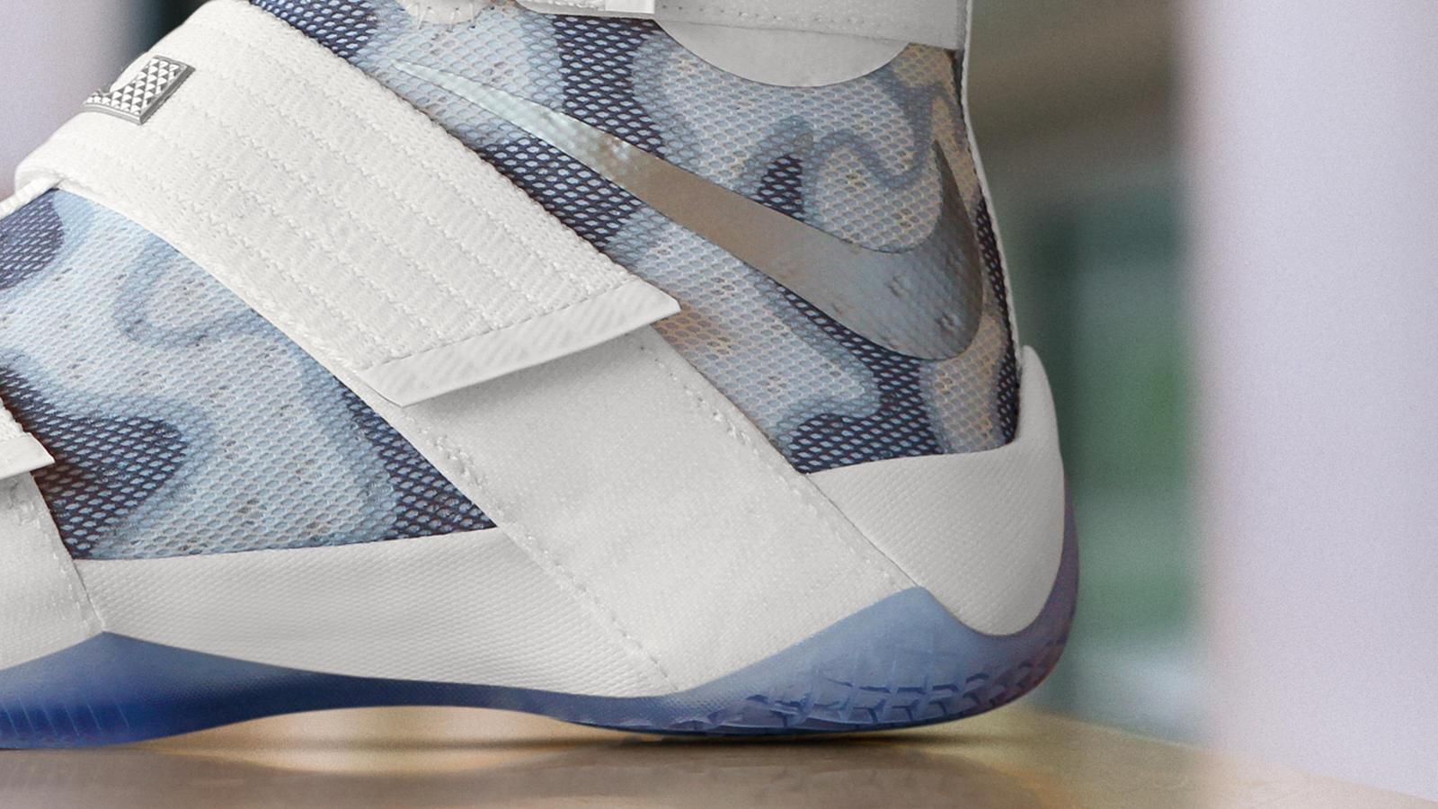san francisco 3a4aa 8e340 Nike Zoom LeBron Soldier 10 White Camo NIKEiD Option 1