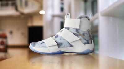 Nike Zoom LeBron Soldier 10 White Camo NIKEiD Option 4