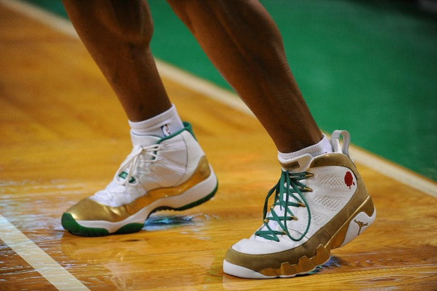 Official Nike Air Jordan 11 Retro Ray Allen's Two Rings Champion