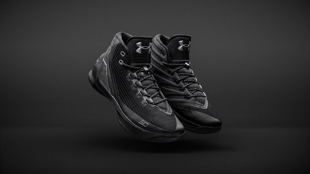 bdcdad754681 The Under Armour Curry 3  Trifecta Black  is Available Now - WearTesters