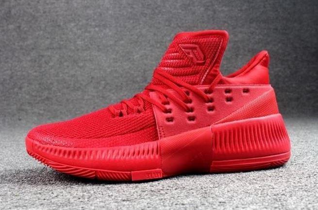 on sale 55f02 ae463 adidas d lillard 3 red 4
