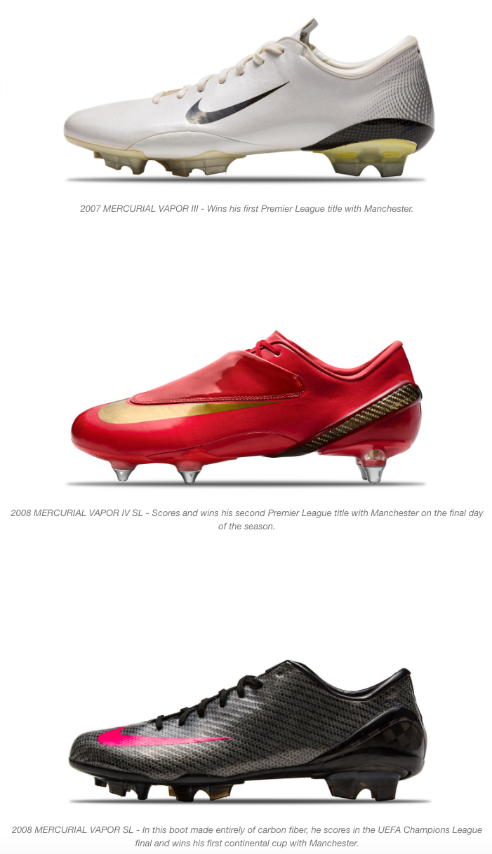 0fe8d5361 nike and cristiano ronaldo mercurial boots 2 - WearTesters