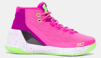 half off b7881 43f75 Rose Gold UA Curry 3s for the Kids - WearTesters