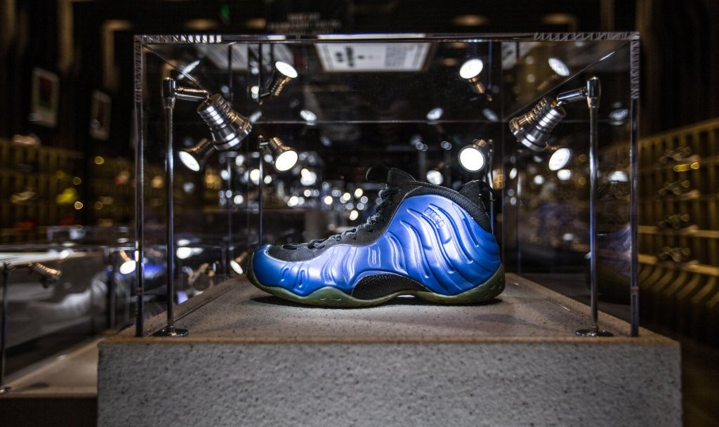 big sale 18d9a 1601e Foamposite Exhibit Shanghai - 3