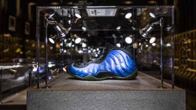 41b95e76f2f The Nike Air Foamposite One XX  Dark Neon Royal  is Available Now
