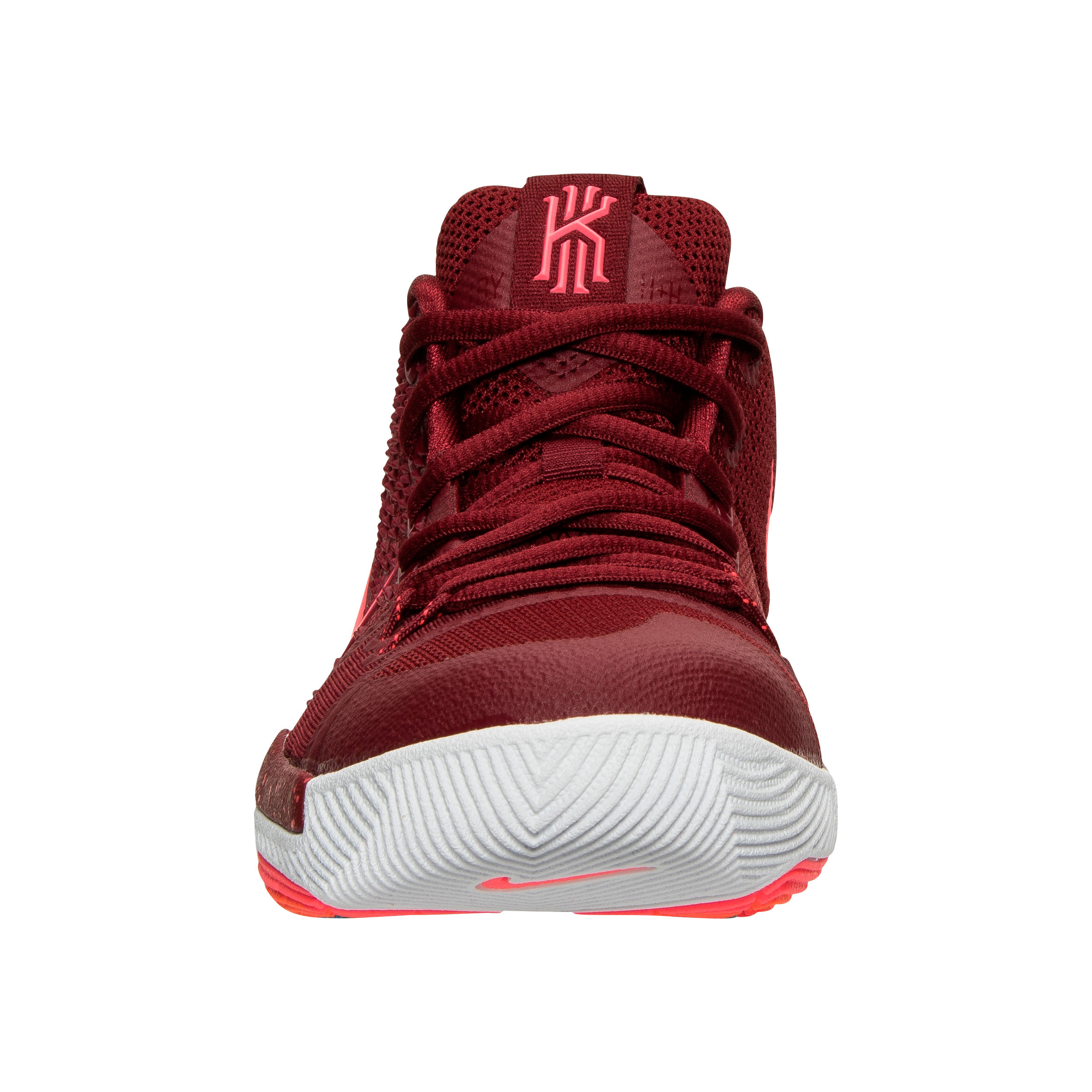 009a1639d8bd Nike Kyrie3 - Front - Team Red Total Crimson - WearTesters