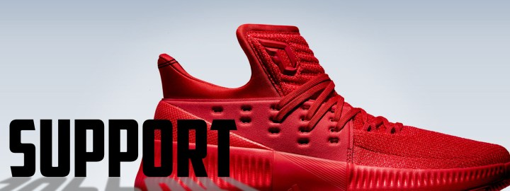 online retailer 068aa 97e24 adidas dame 3 performance review support