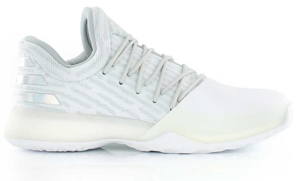 separation shoes 9f7fc e0c39 adidas harden vol. 1 primeknit all white 1