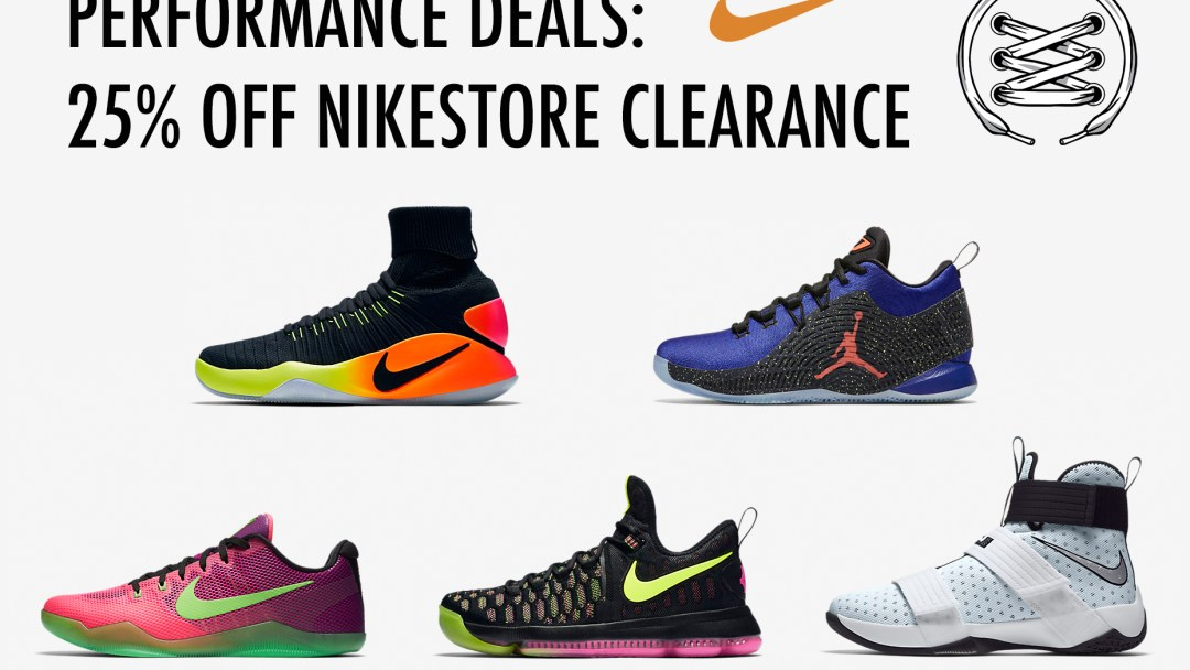 finest selection 221ee 383be Performance Deals  Nike   Jordan Hoop Shoes for 25% Off - WearTesters
