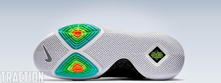 b4f832812674 Traction – The Nike Kyrie 2 offered some of the best traction available in  2016