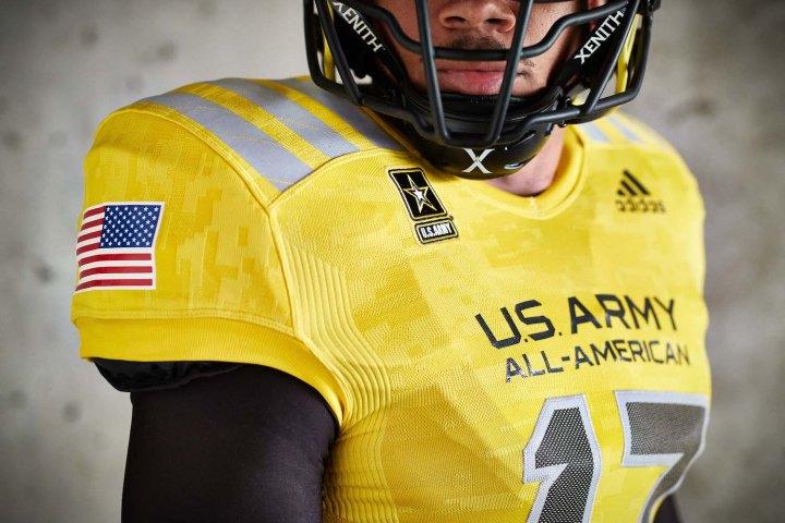 90f847881 adidas Unveils 2017 U.S. Army All-American Bowl Uniforms - WearTesters