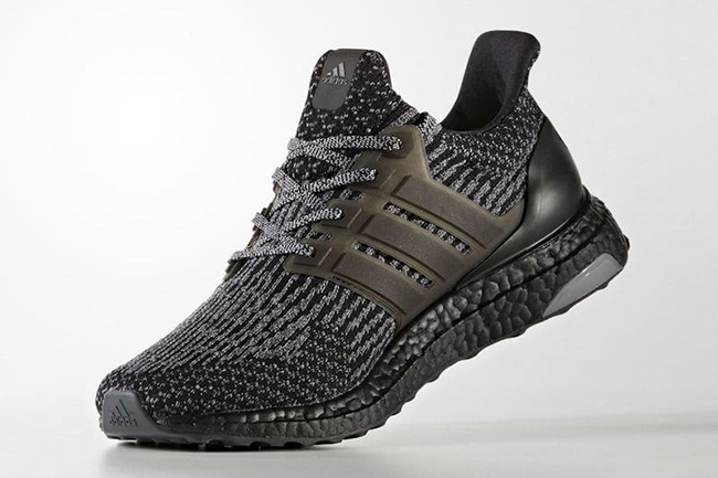54f55180e27d The adidas Ultra Boost 3.0  Black Silver  is Slated for Spring ...