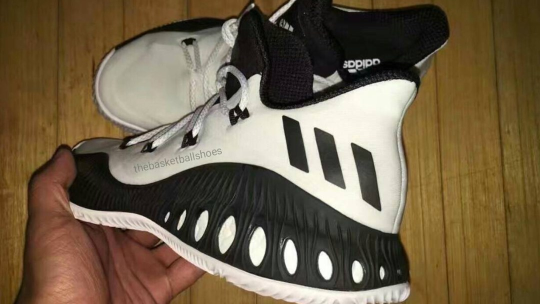 sneakers for cheap c3777 60cb5 adidas crazy explosive low black white 1