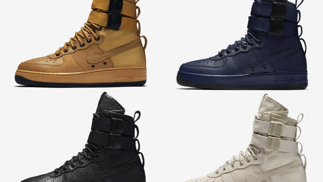f88543bee8cfde The Nike Special Field Air Force 1 is Available Now in 4 Colorways ...