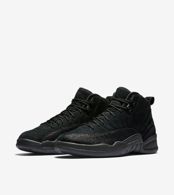 631e93758bfc A Detailed Look at the Air Jordan 12 OVO  Black  - WearTesters