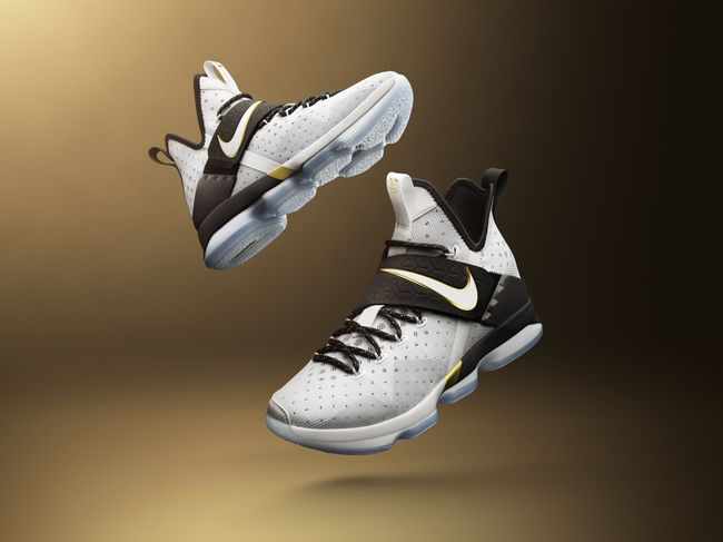 e8f43c159c2 The Nike Lunar Epic and Serena Williams' Nike Flare make their way into the  collection as well. Both utilize the same color palette black, gold, and  white.