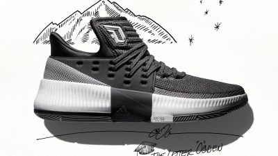 half off 51e1e 8916f The Grey adidas Dame 3 Wasatch Front is Available Now